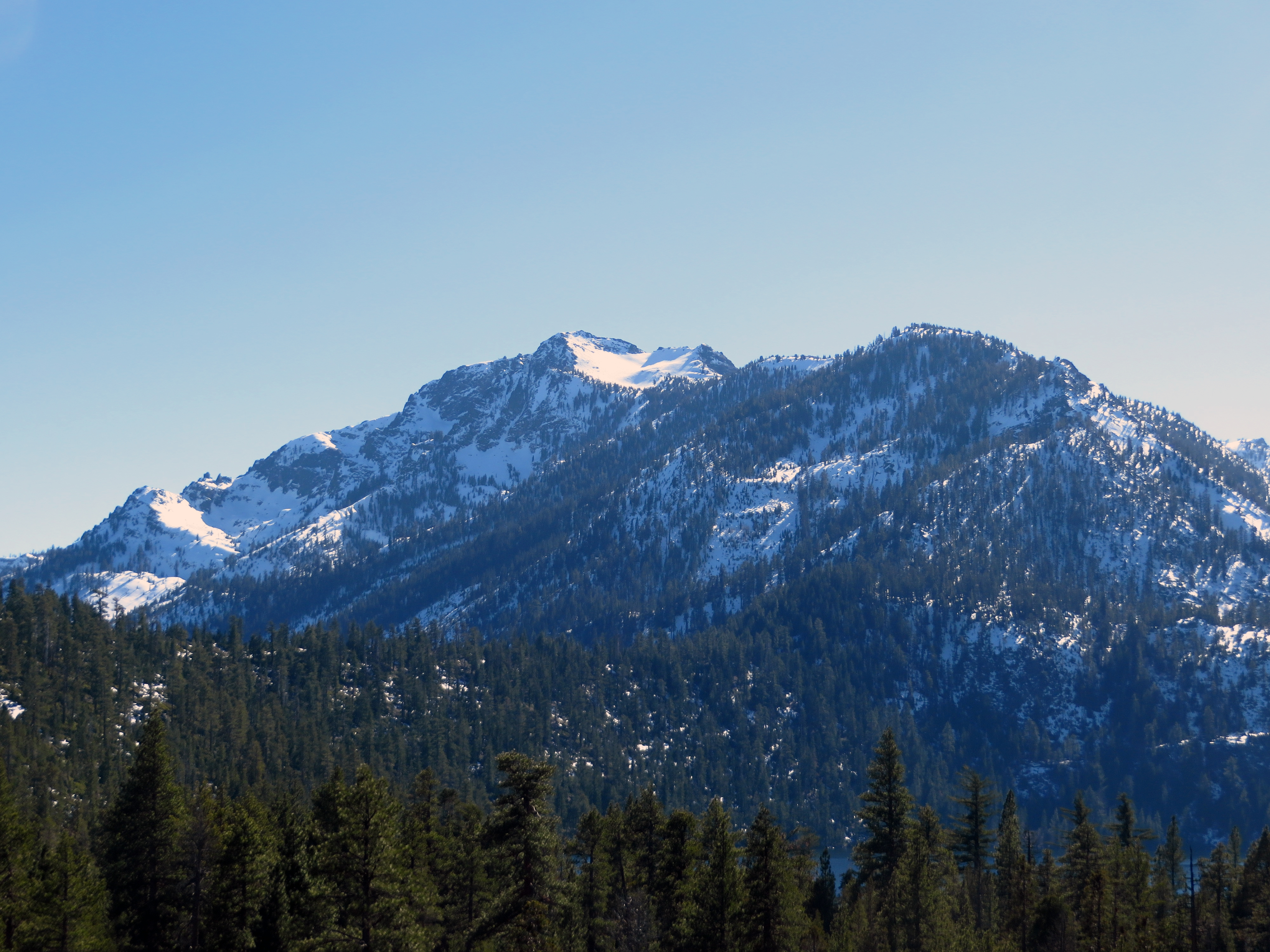 The beast unclimbed (for now): Mount Tallac.  (photo by D. Speredelozzi)
