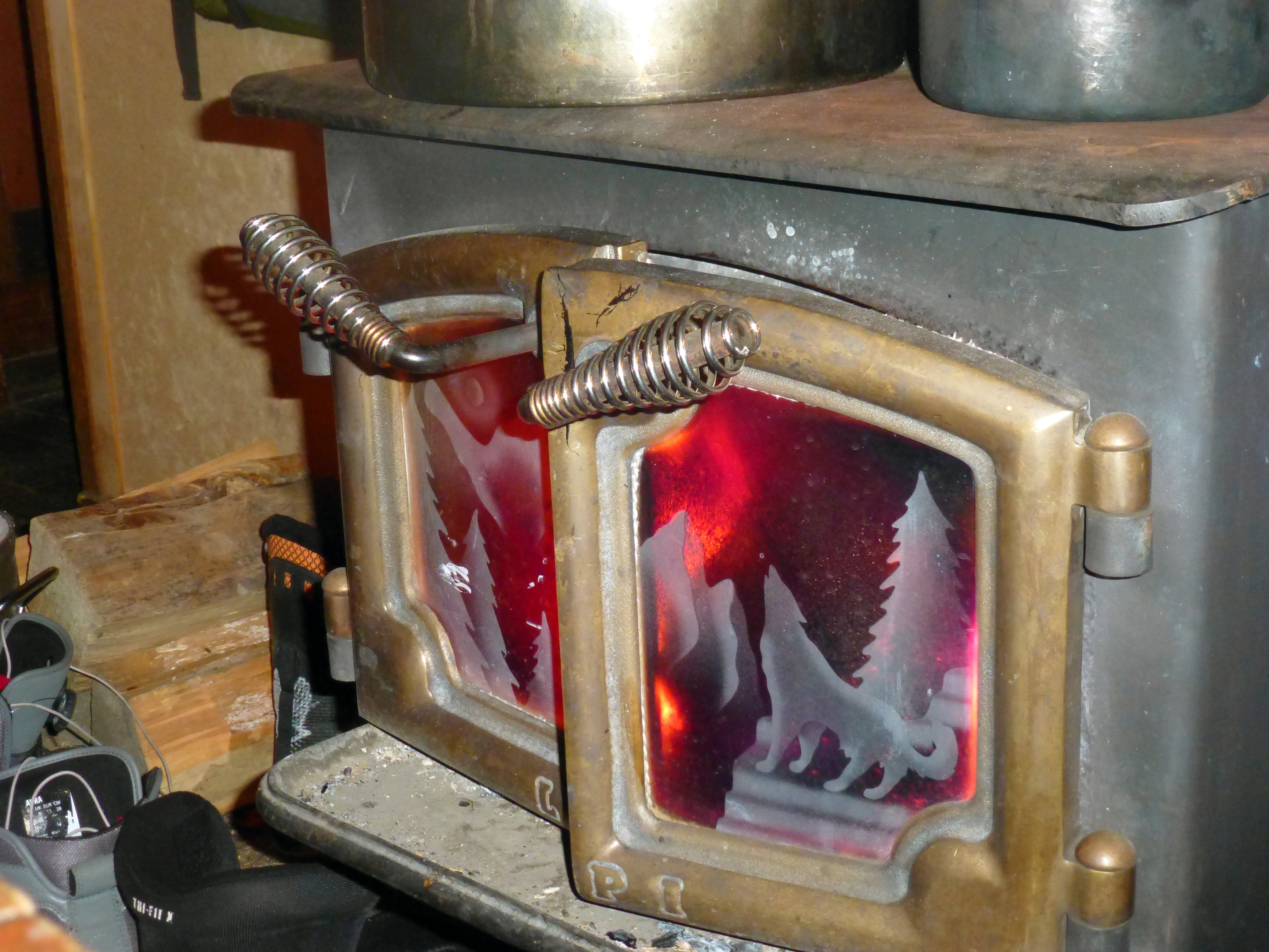If another letter from that school goes to that kid's secret back-country cabin, into the fuckin' cast-iron wood-burning stove you're gonna go head-first!  (photo by D. Speredelozzi)