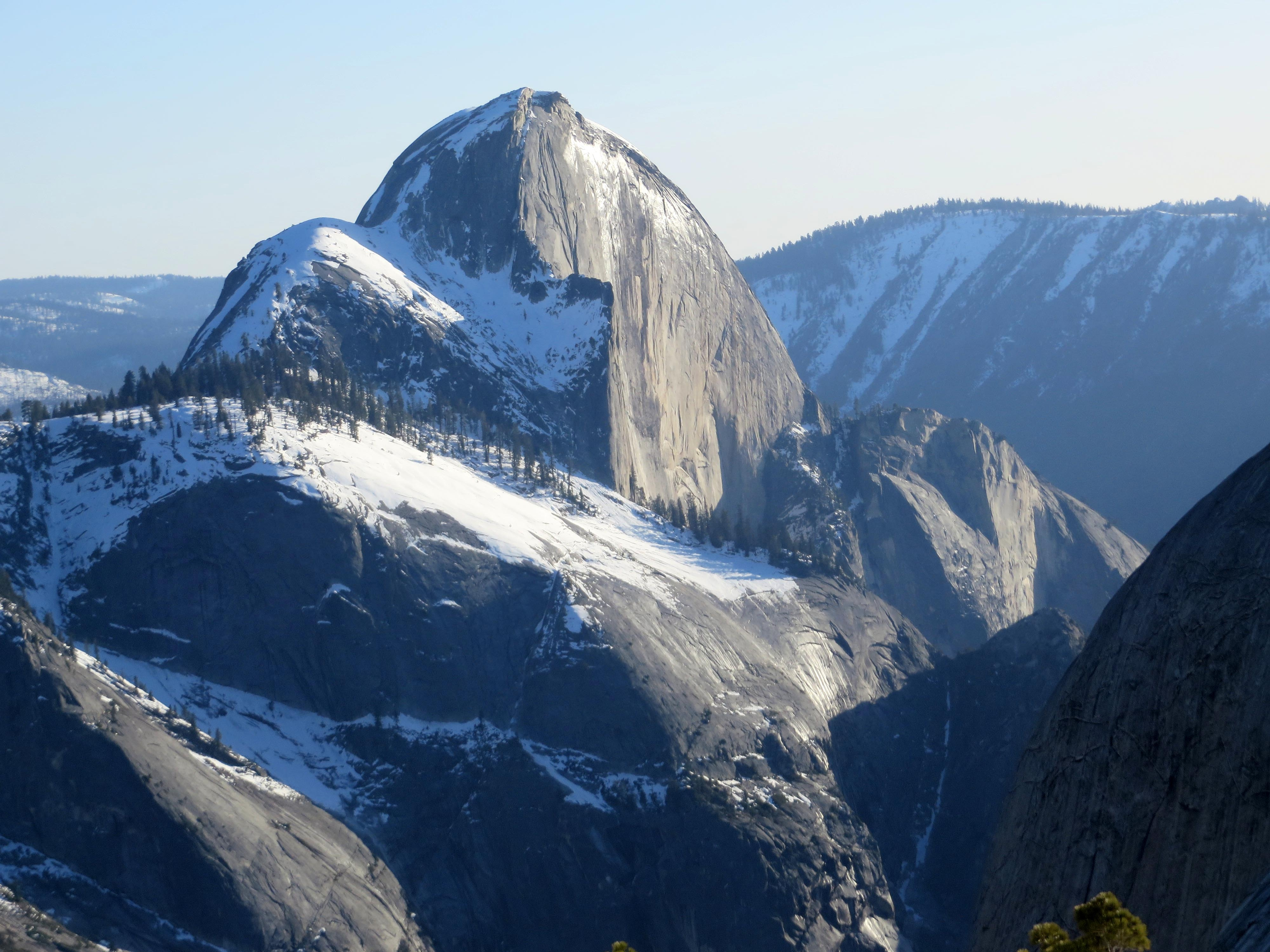 Half Dome. Late afternoon. (photo by D. Speredelozzi)