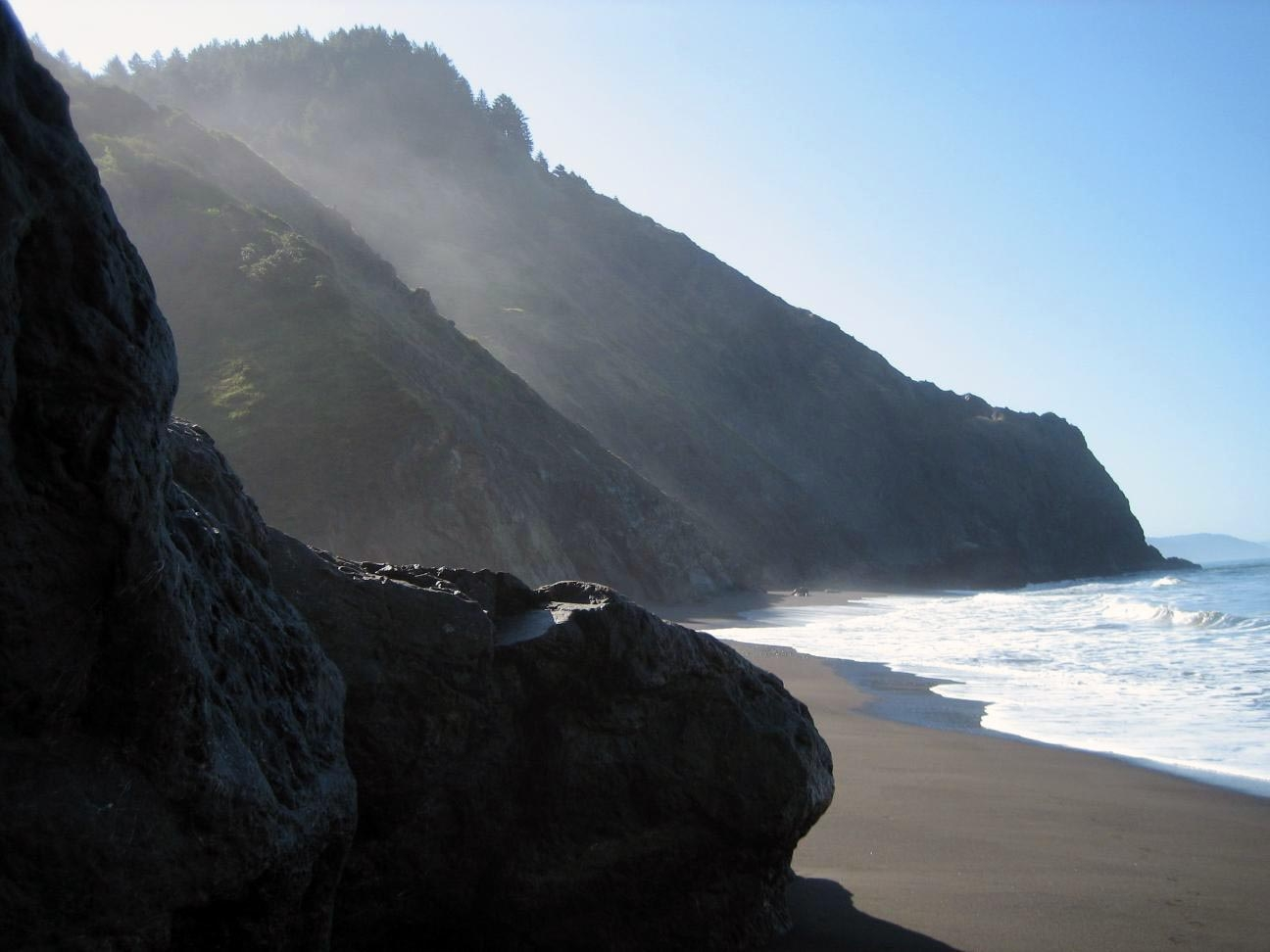 A taste of the Lost Coast, courtesy of someone less ill-fated than myself.  (photo by Unknown)