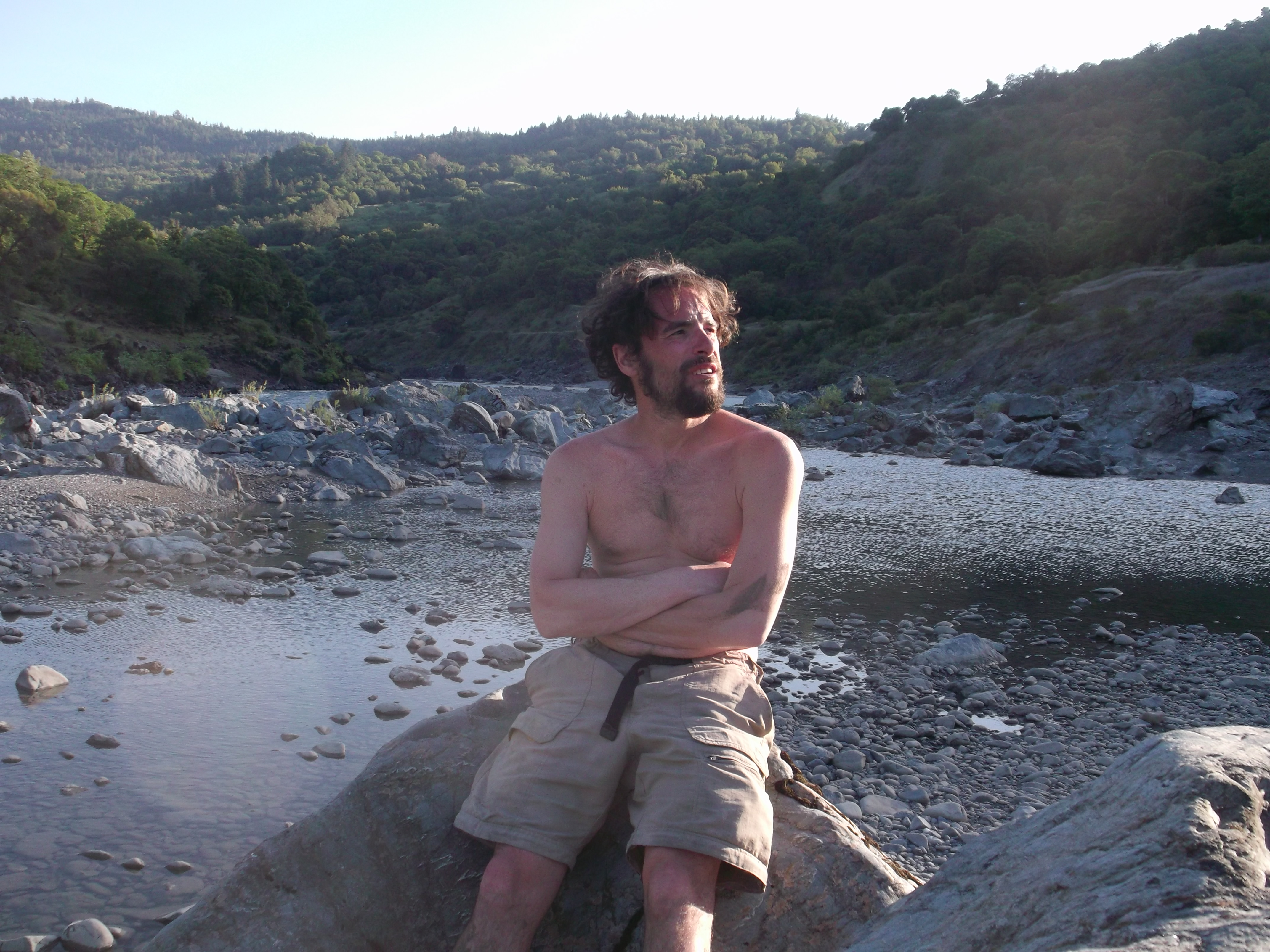 First Mendo swimming hole. (photo by D. Speredelozzi)