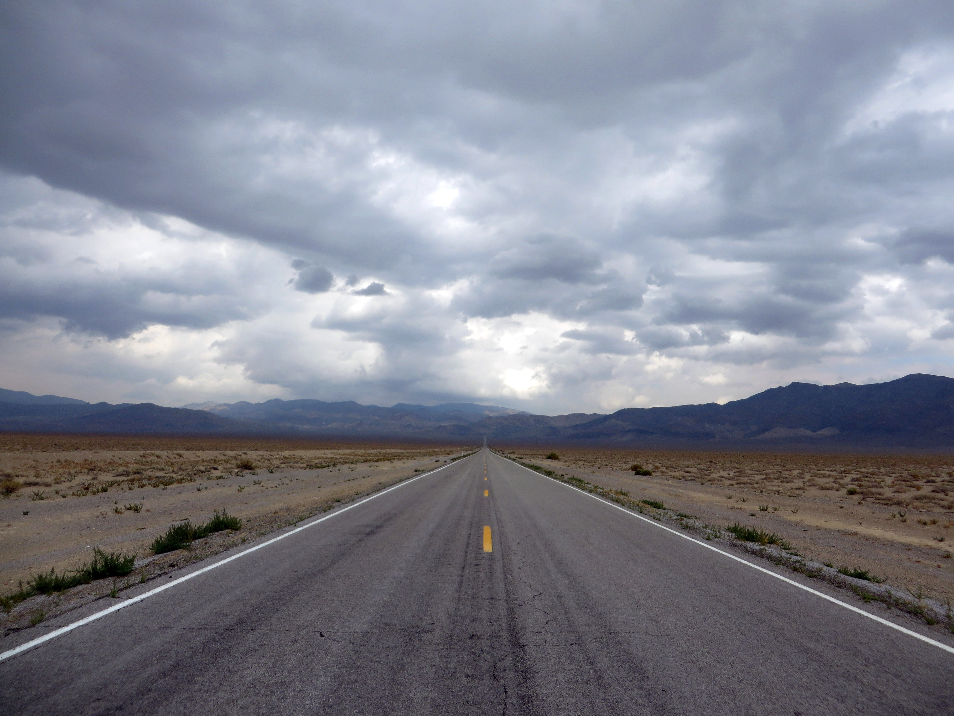 This panorama only repeats about fifty times on the drive through Nevada from Idaho to California. (photo by D. Speredelozzi)