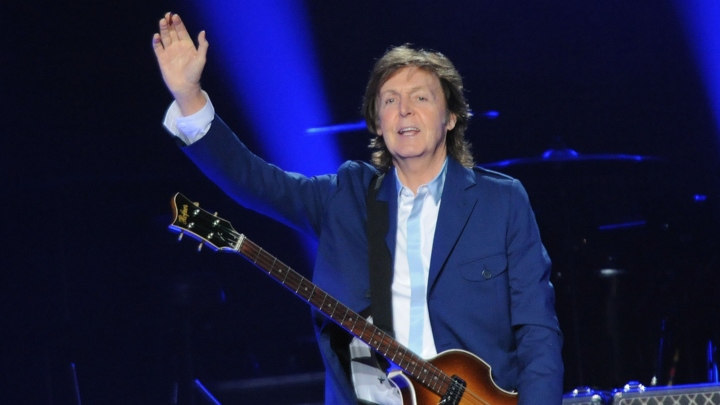 I'm Sir Paul McCartney, and I could get up on stage and fart into a mike for three hours and you'd still love it. (photo by www.rollingstone.com)