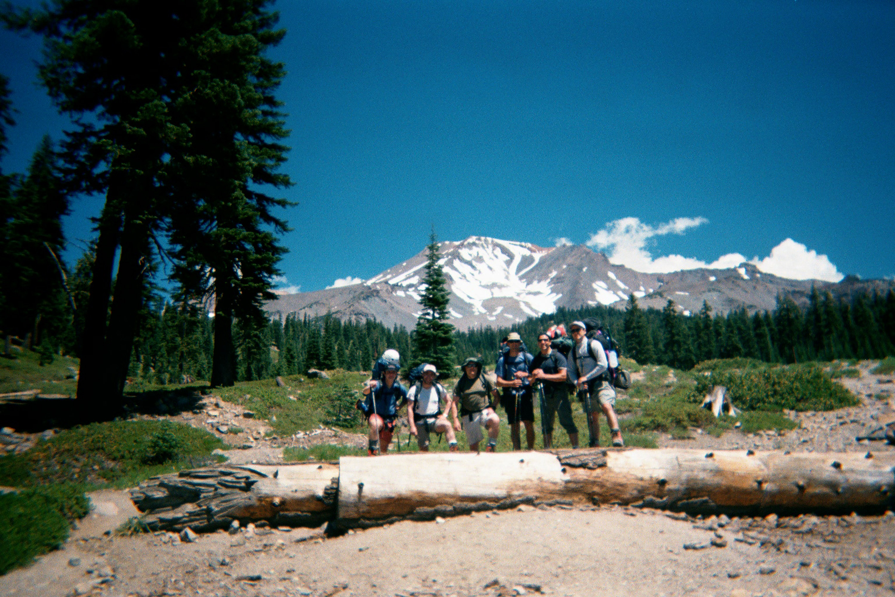 About to climb Mt. Shasta, 2002. (photo by some random dude)