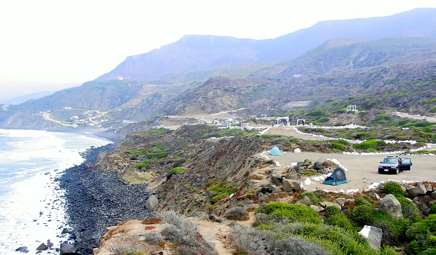 Playa Saldamando Campground. (photo by D. Speredelozzi)