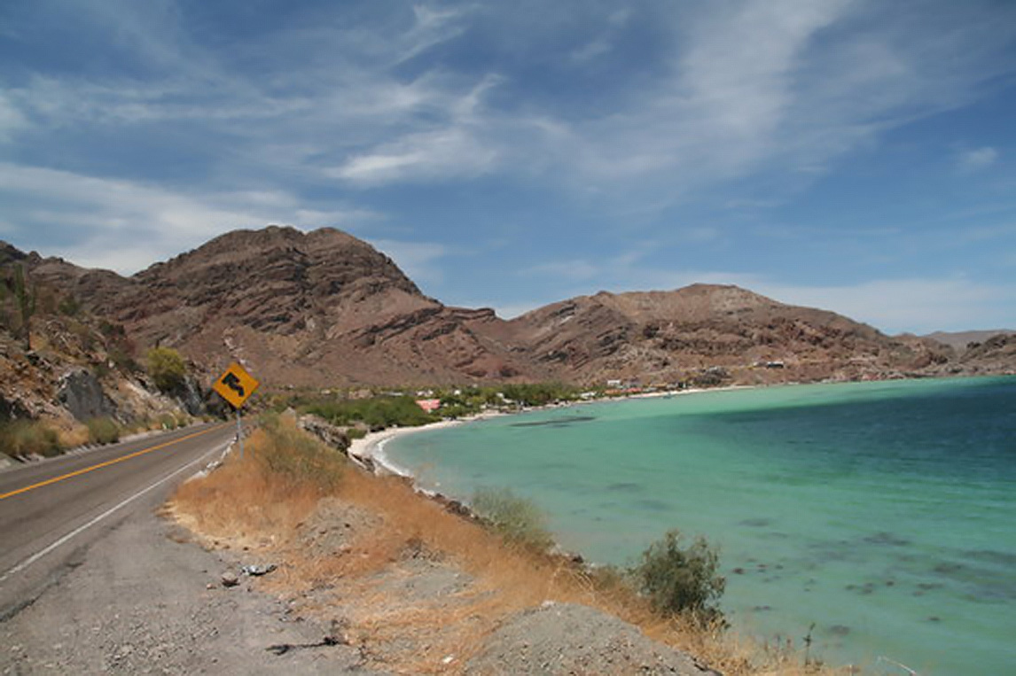 The subtropical coastal waters of Baja California are already showing their famous green hue. (image by www.tripadvisor.com)
