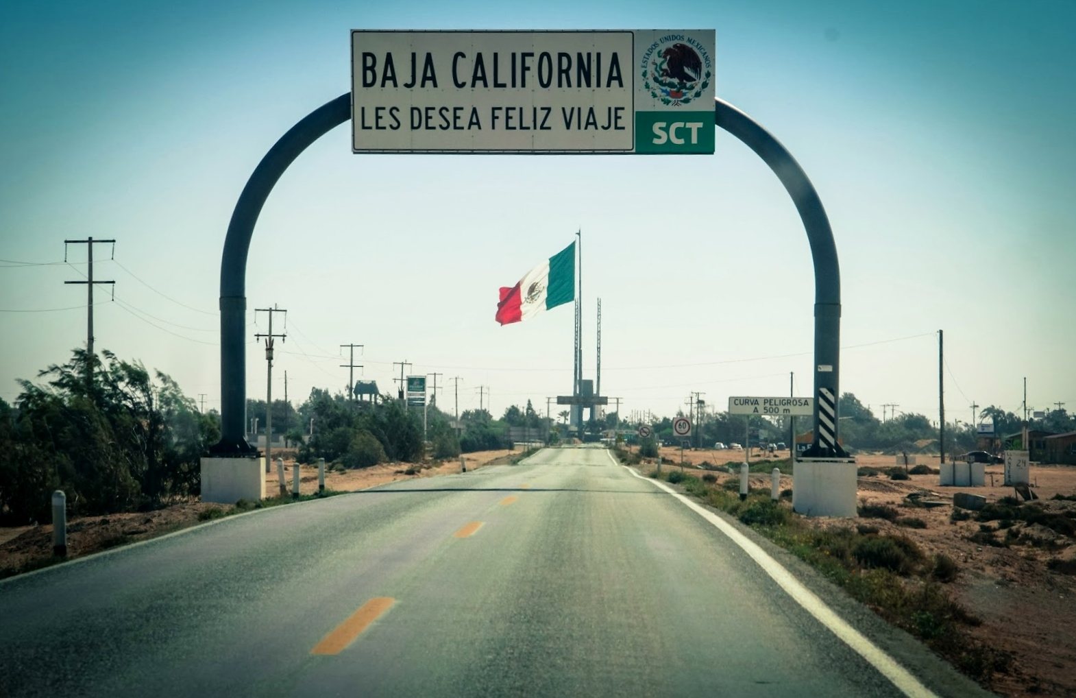 The port of entry for Baja California Sur, at Guerrero Negro. (photo by D. Speredelozzi)