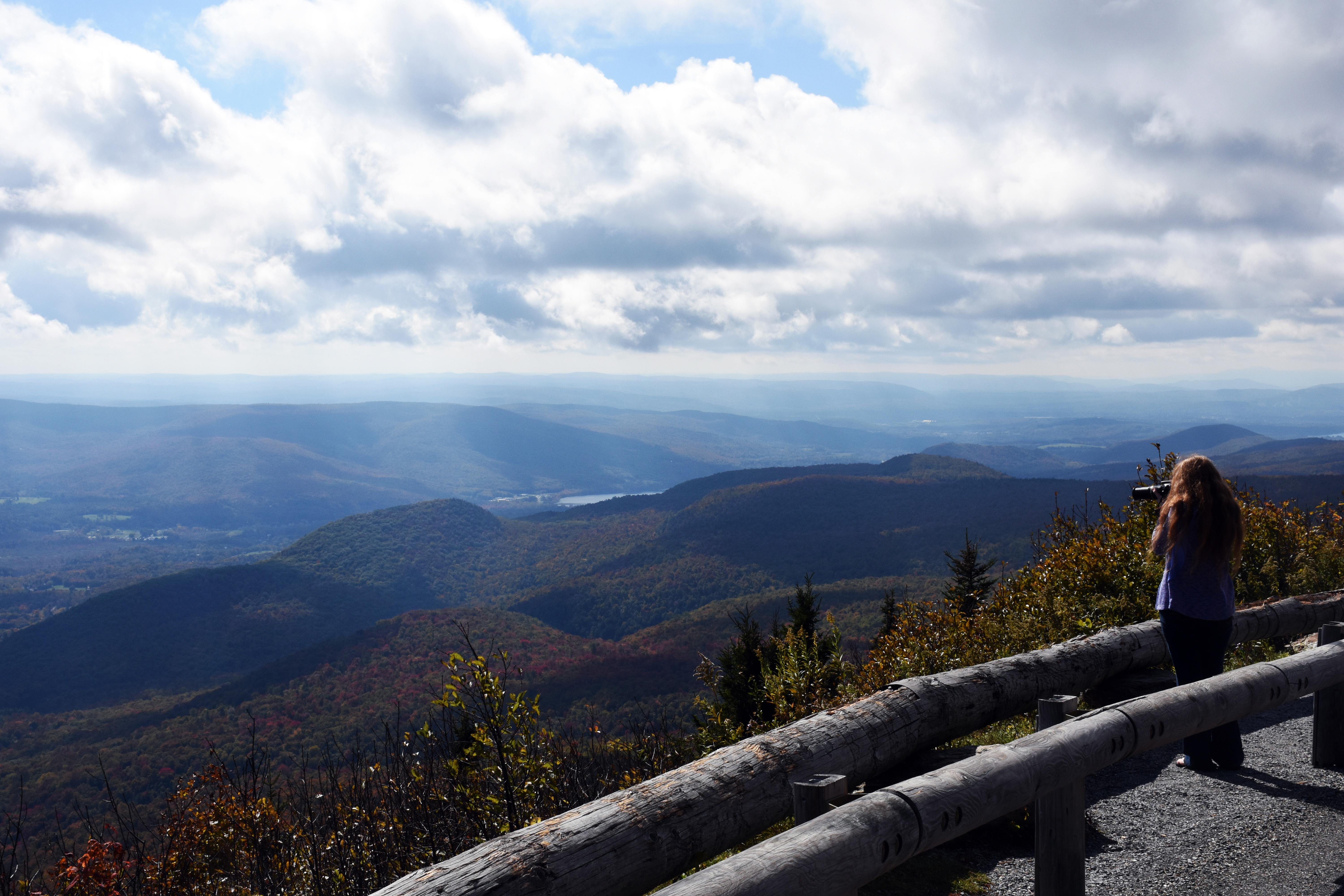 Cheshire, MA, from Mt. Greylock. (photo by D. Speredelozzi)