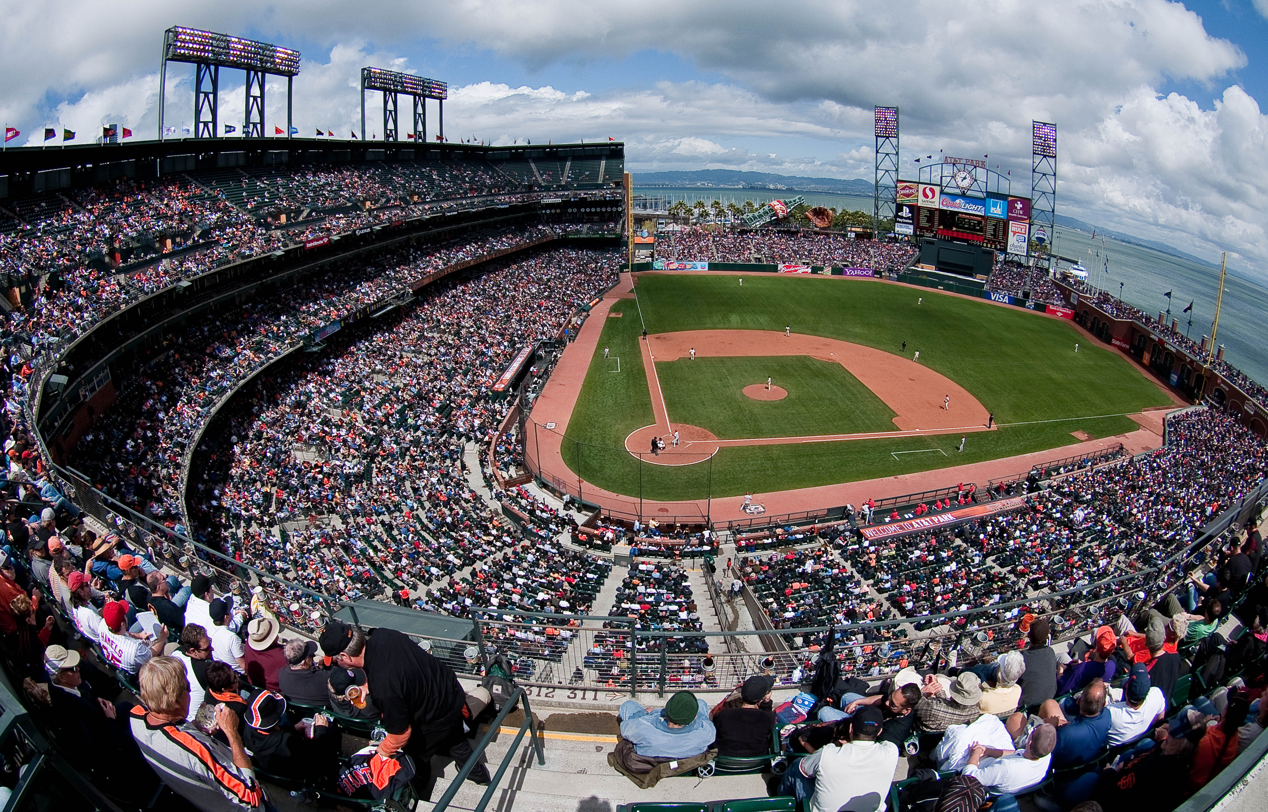 ATT Park The New Home Of San Francisco Giants Rolling Stones